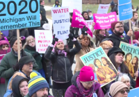 Michigan protesters call out alleged power grab by Republicans
