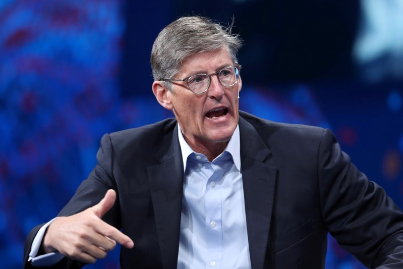 FILE PHOTO: Michael Corbat, CEO Citigroup, speaks at the Milken Institute's 21st Global Conference in Beverly Hills