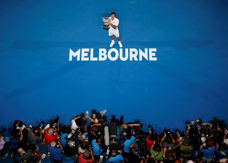 FILE PHOTO: Tennis - Australian Open - Men's singles final - Rod Laver Arena, Melbourne, Australia