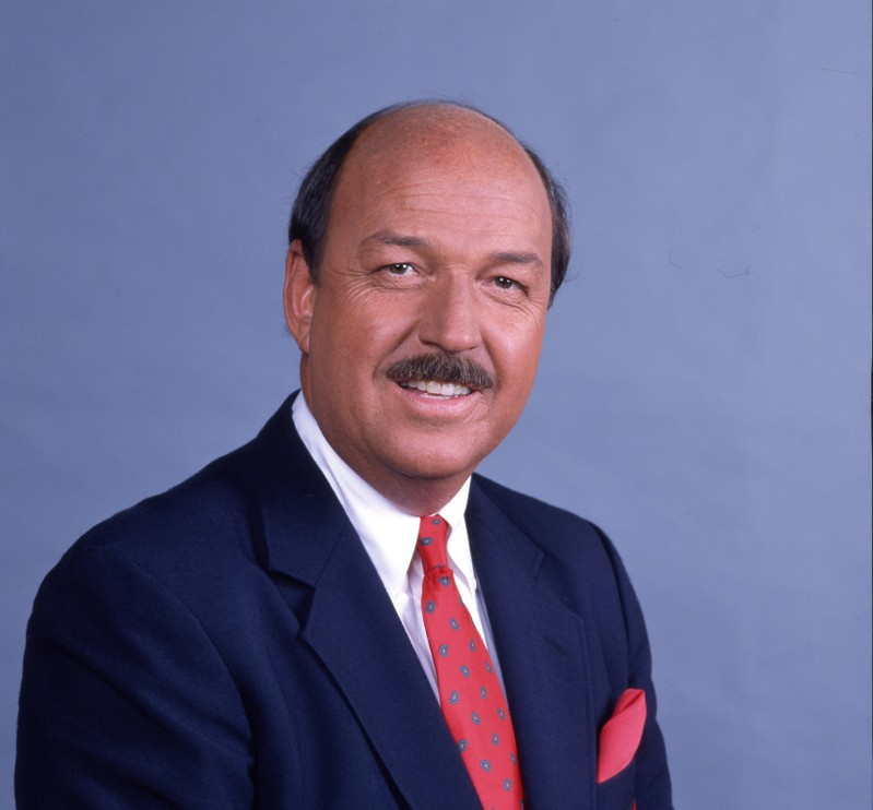 World Wrestling Entertainment photo of professional wrestling announcer Gene Okerlund nicknamed