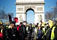 French yellow vest protesters seek momentum on 15th week