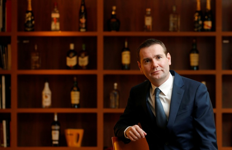 FILE PHOTO: Pernod Ricard CEO Alexandre Ricard at the French drinks company's Paris headquarters