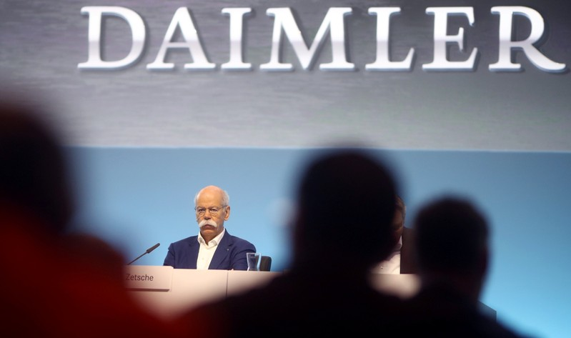 Daimler AG's annual news conference in Stuttgart
