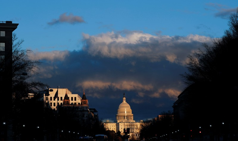 The U.S. Capitol is seen after Special Counsel Mueller handed in report on his Trump-Russia investigation in Washington