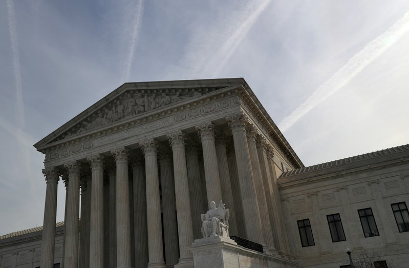 The U.S. Supreme Court in Washington, U.S.