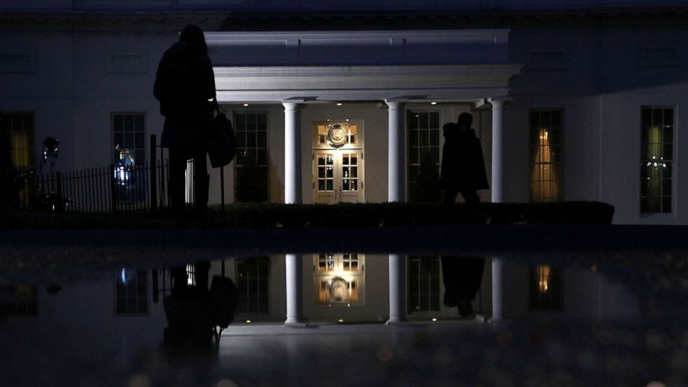 The West Wing of the White House is seen in the morning hours on March 22, 2019 in Washington, D.C.