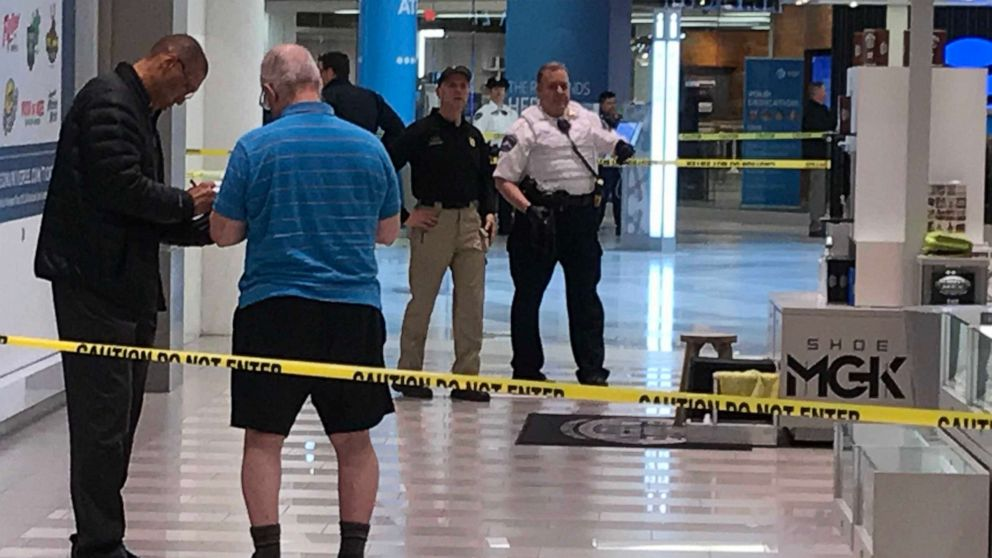 A 5-year-old was hospitalized after an incident at the Mall of America in Bloomington, Minn., April 12, 2019.