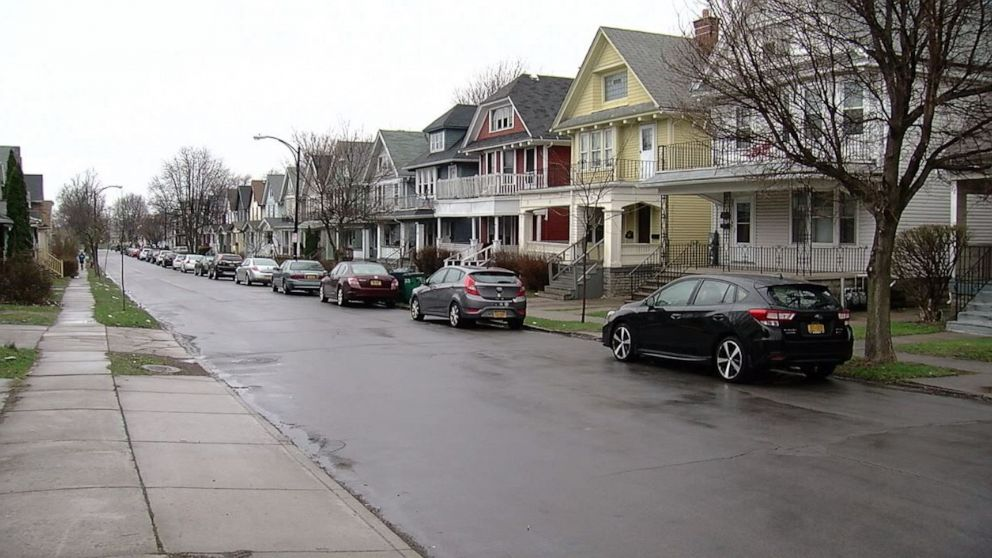 """A student was critically injured in a """"potential"""" hazing incident at the University at Buffalo's Sigma Pi house on Custer Street in Buffalo, N.Y., on Friday, April 12, 2019."""