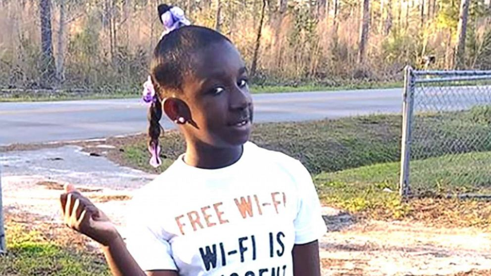 RaNiya Wright, a fifth-grade student at Forest Hills Elementary School is pictured in this undated photo provided by her family.