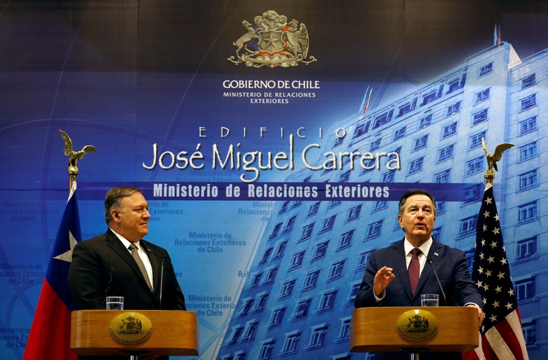 U.S. Secretary of State Mike Pompeo visits Chile