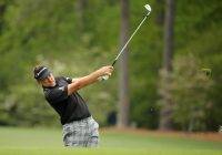 Poulter not playing the percentages at Augusta National
