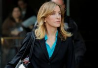 Actress Felicity Huffman to plead guilty to U.S. college cheating scam