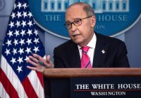 Kudlow acknowledges US will pay for China tariffs, contradicting Trump