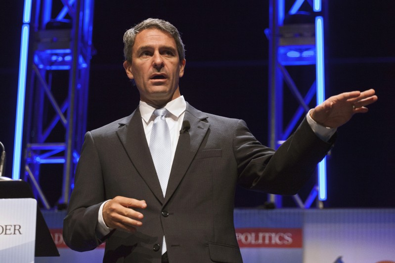 FILE PHOTO - Former Virginia Attorney General Cuccinelli speaks at the Family Leadership Summit in Ames