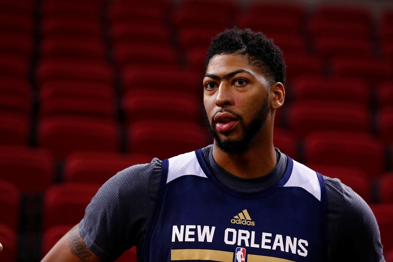 FILE PHOTO: NBA New Orleans Pelicans preseason training session