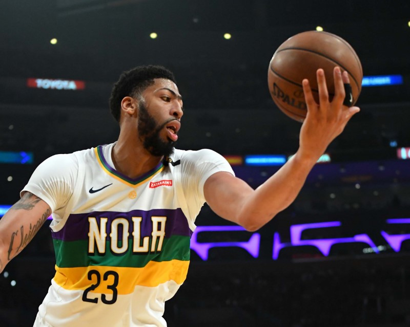 FILE PHOTO: NBA: New Orleans Pelicans at Los Angeles Lakers