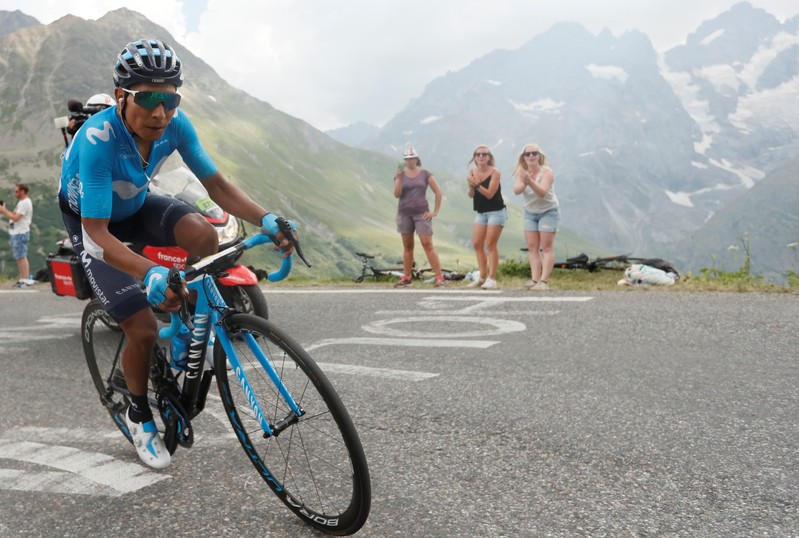 Tour de France - The 208-km Stage 18 from Embrun to Valloire