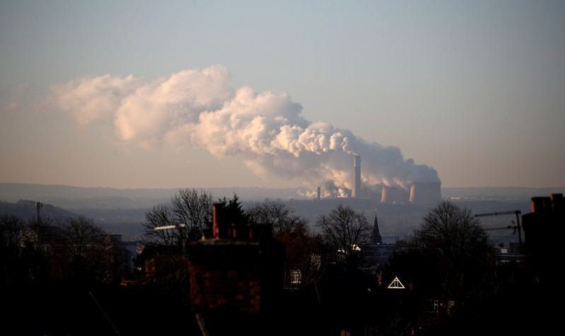 FILE PHOTO: Ratcliffe-on-Soar coal-fired power station near Nottingham