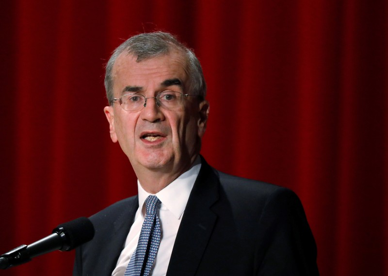 ECB policymaker Villeroy de Galhau, who is also governor of the French central bank, attends the Paris Europlace International Financial Forum in Tokyo