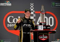 Haley wins red-flagged Coke Zero Sugar 400 at Daytona