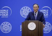 In jab at U.S., China vice president says world cannot shut China out