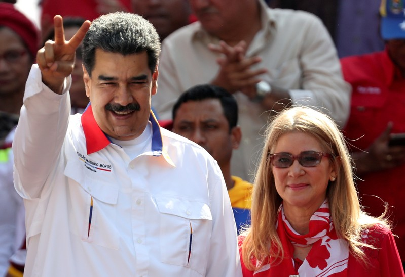 FILE PHOTO: A rally in support of the government of Venezuela's President Nicolas Maduro in Caracas