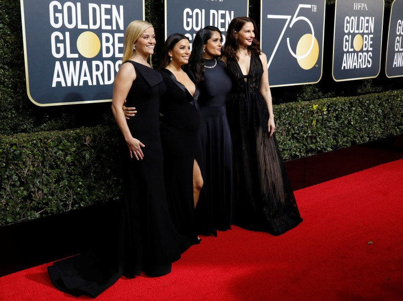 FILE PHOTO: 75th Golden Globe Awards – Arrivals – Beverly Hills
