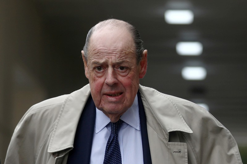 FILE PHOTO: FILE PHOTO: Conservative Member of Parliament Nicholas Soames walks in Westminster, in London