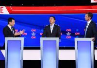 Here's what each presidential candidate had to say about tech regulation at the Democratic debate