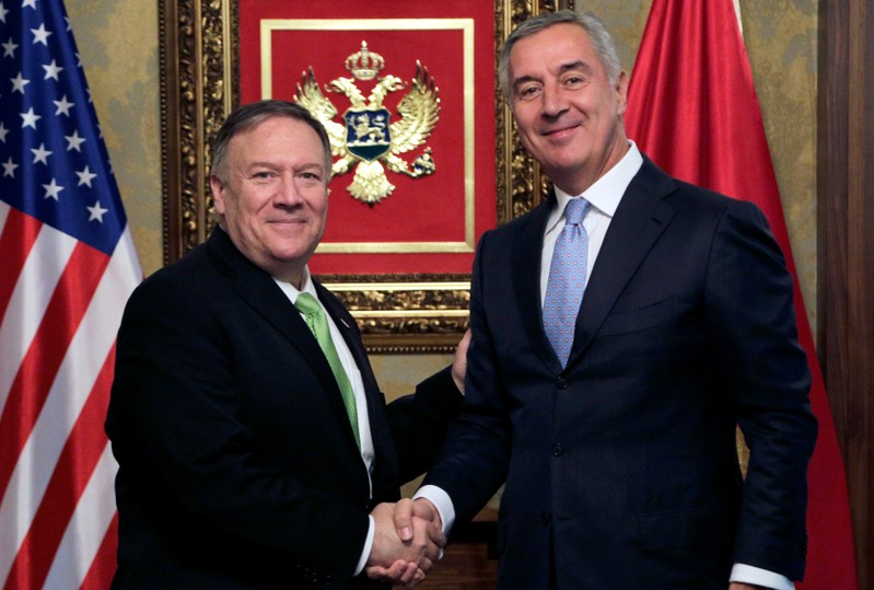 U.S. Secretary of State Mike Pompeo visits Montenegro