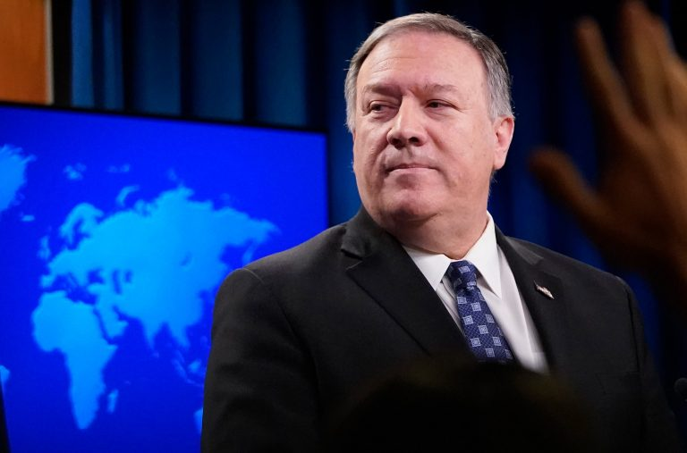 Pompeo doesn't deny he cursed out NPR reporter, condemns 'unhinged' media