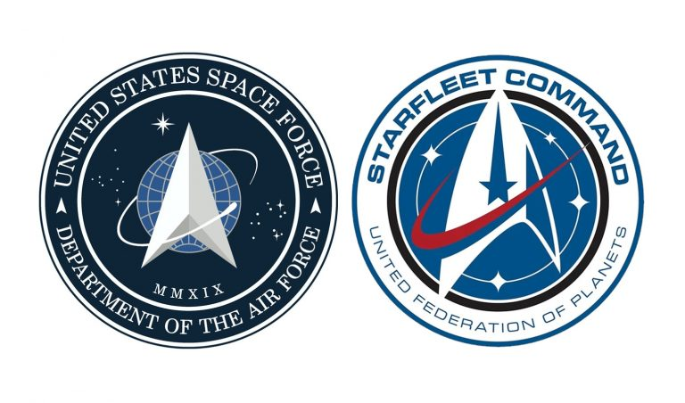 Trump just revealed the logo for the Space Force, and it looks like the 'Star Trek' symbol