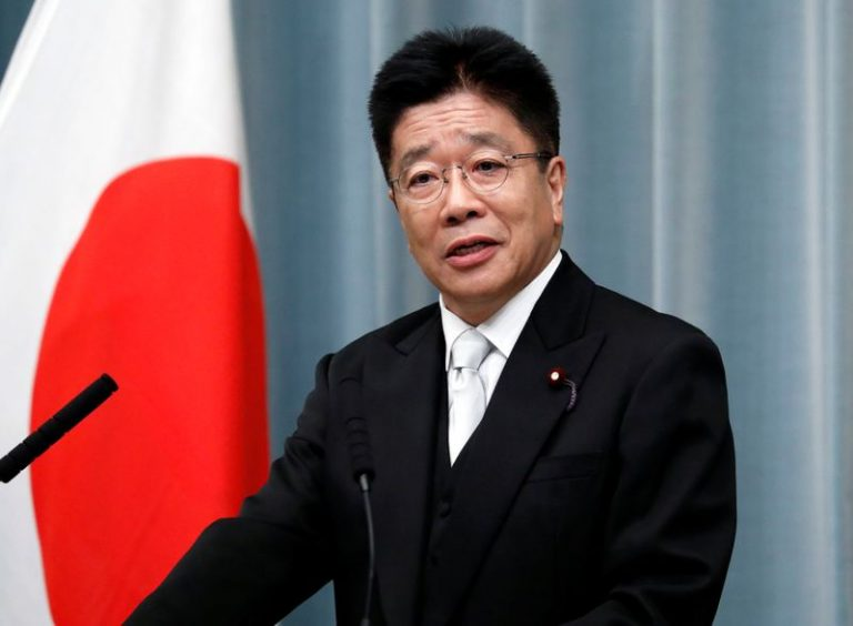 Japan health minister says too early to talk about cancelling Olympics