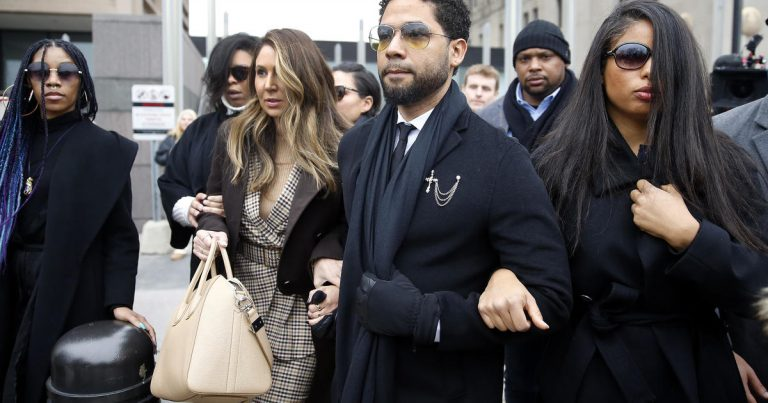 Jussie Smollett pleads not guilty to new charges