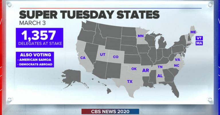 """Super Tuesday marks the """"beginning of congressional primary season"""""""