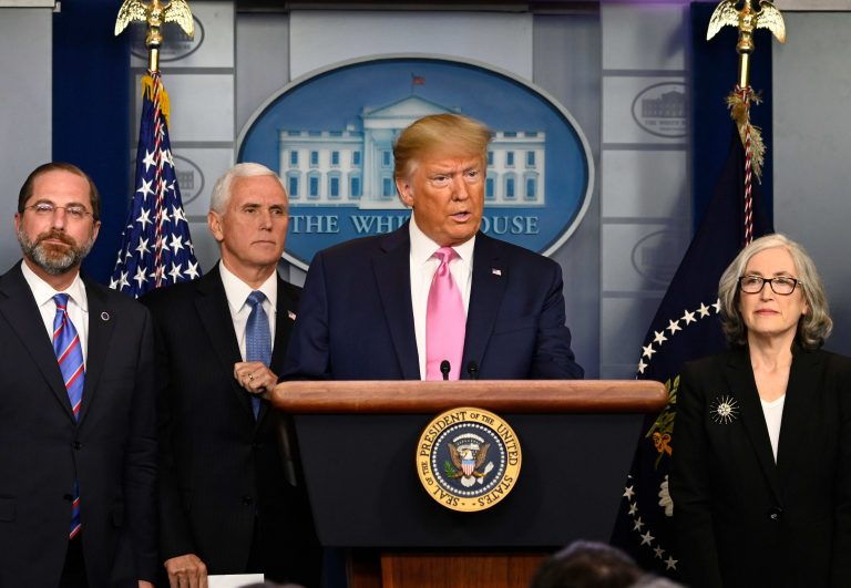Trump puts Mike Pence in charge of response to coronavirus, says US risk 'remains very low'