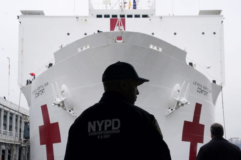 Coronavirus live updates: Over 1,000 NYC police contract COVID-19, TSA screenings at 10-year low