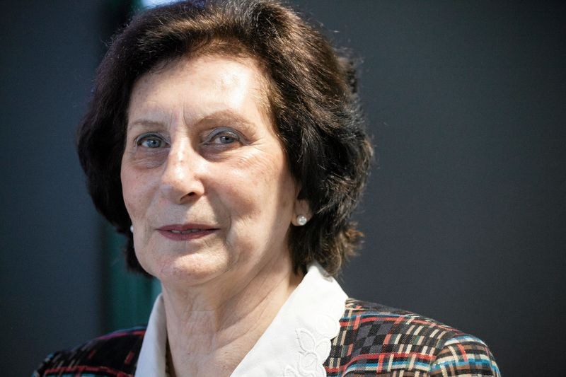 FILE PHOTO: Irena Szewinska attends the opening of a new oncological hospital Magodent in Warsaw