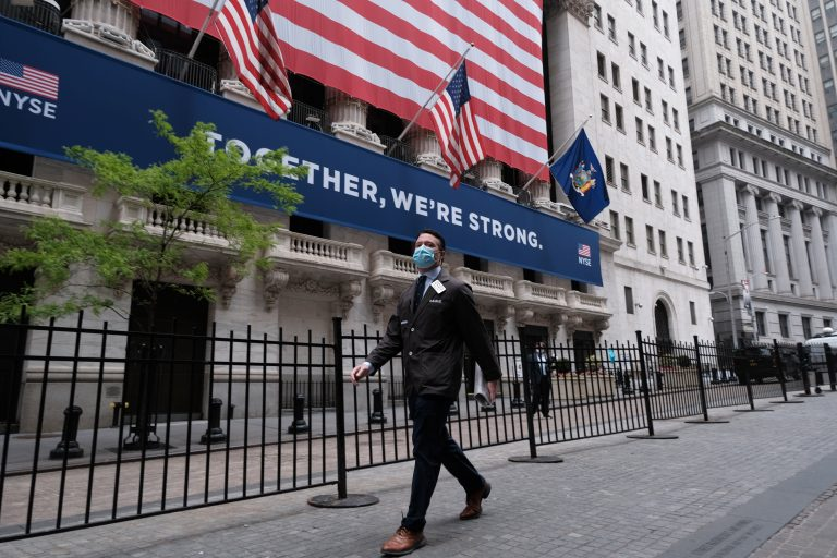 Stocks break through a major milestone but failed to close above it on first try