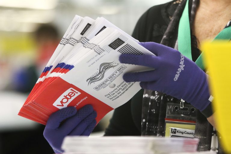 Twitter fact-checks Trump, slaps warning labels on his tweets about mail-in ballots