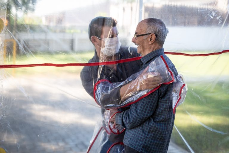 'Cuddle curtains' are going global amid the coronavirus pandemic