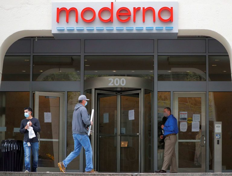 Moderna stock falls 8% after report says late-stage coronavirus vaccine trial delayed