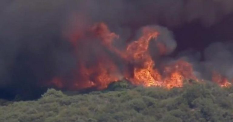 Heat wave fueling wildfires in California, forcing evacuations