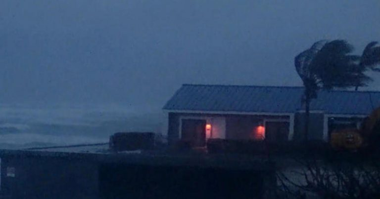 Tropical Storm Isaias hits Florida coast with high winds and dangerous surf