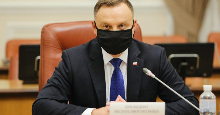 Poland's president tests positive for COVID-19