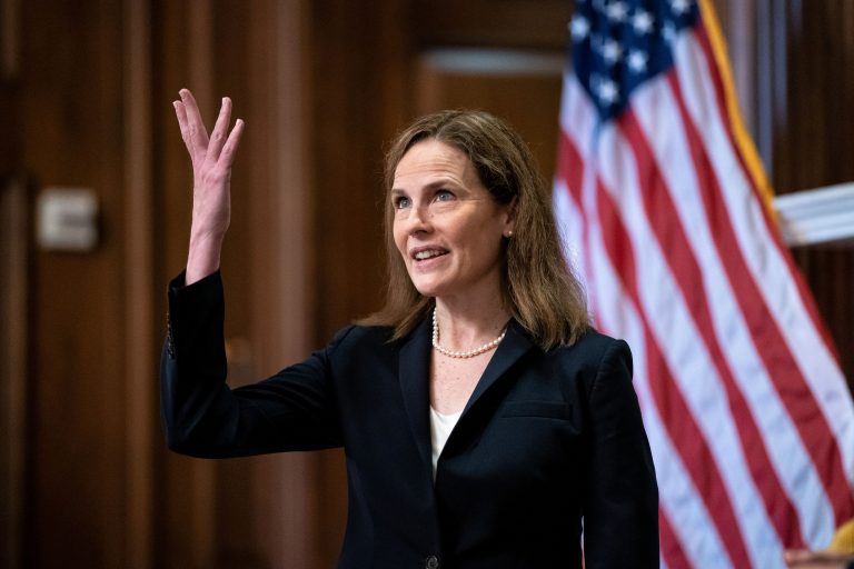 Senate advances Amy Coney Barrett nomination, with confirmation expected Monday