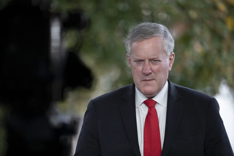 White House chief Meadows says 'we're not going to control the pandemic' after coronavirus cases hit record high