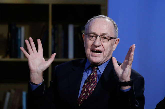 Dershowitz: They committed 6 independent violations of the Constitution