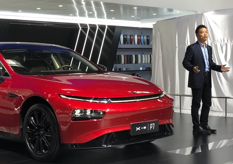 In challenge to Tesla, Chinese electric carmaker Xpeng releases autonomous features for highway driving