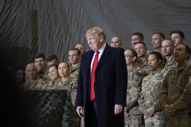 President Trump: It's been a great honor to rebuild our military